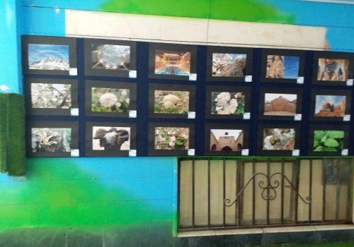 برگزاری دومین دوره نمایشگاه هنرهای تجسمی در دبستان نخبگان علامه طباطبایی