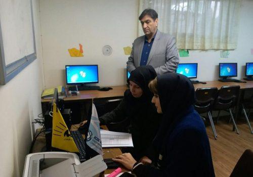 بازدید بنیاد ICDL از آموزشگاه کامپیوتر علامه طباطبایی