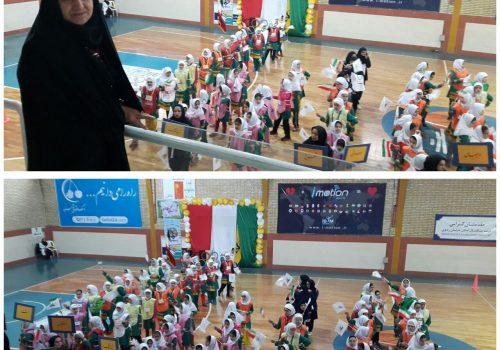 برگزاری المپیاد درون مدرسه ای با شرکت مدارس دخترانه علامه طباطبایی