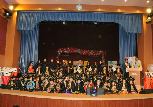 برگزاری جشن بزرگ فارغ التحصیلی دانش آموزان پیش دبستانی علامه طباطبایی