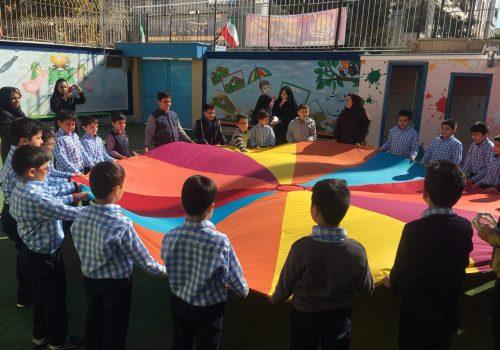 روز جهانی کودک در دبستان علامه۲