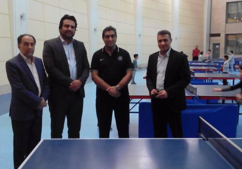 بازدید از سالن های ورزشی آستان قدس توسط مدیرعامل محترم مجتمع علامه طباطبایی